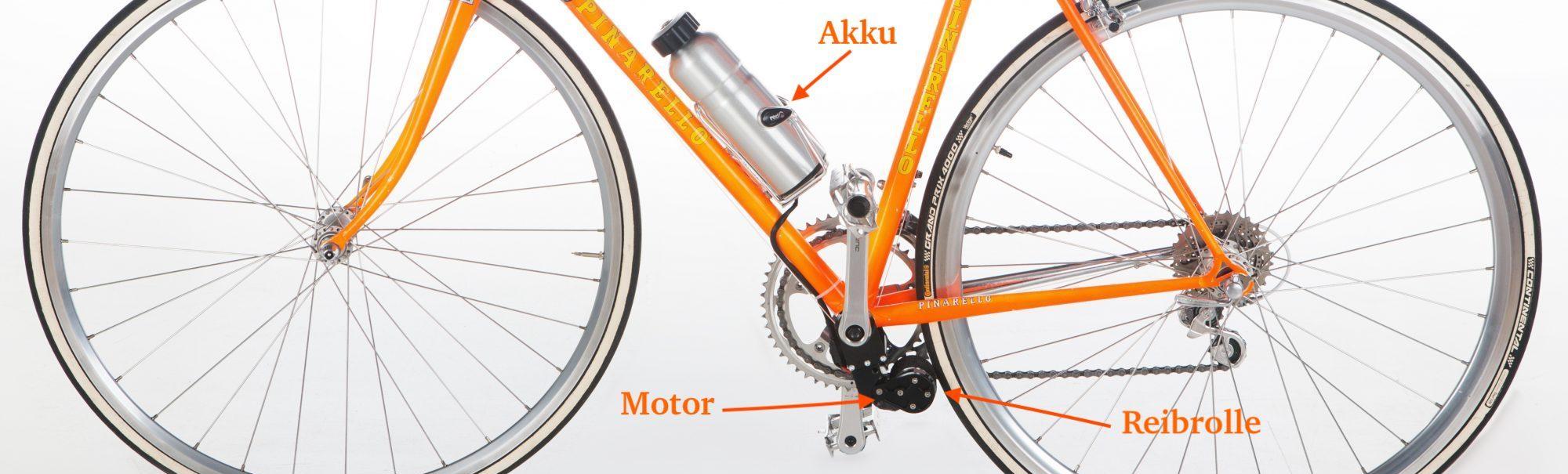 Der Nachrüstsatz für Ihr e-Bike